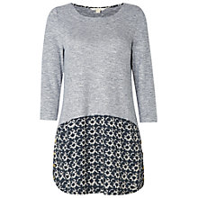 Buy White Stuff Sunset Jersey Tunic, Grey Online at johnlewis.com