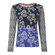 Buy White Stuff Silk Road Jumper, Navy Online at johnlewis.com