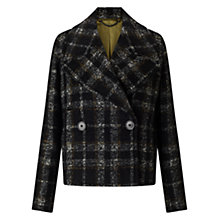 Buy Jigsaw Giant Rever Peacoat Online at johnlewis.com
