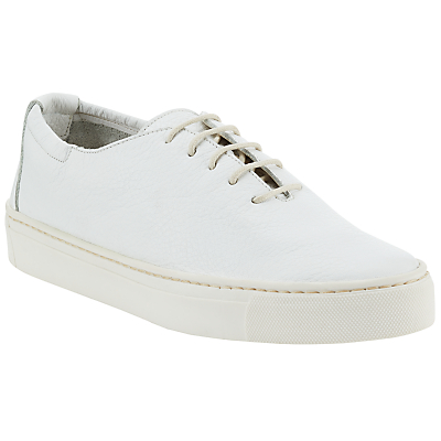John Lewis Designed for Comfort Elanna Lace Up Plimsolls, White