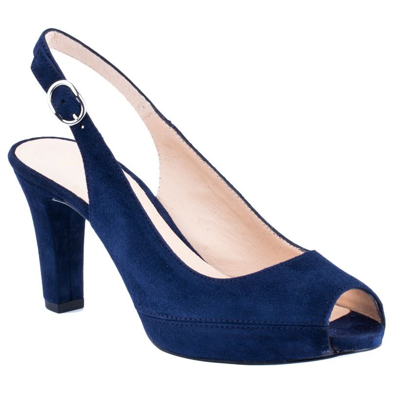 Unisa Unisa Nick Peep Toe Block Heeled Sandals