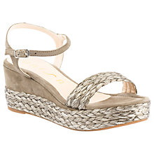 Buy Unisa Katia Wedge Heeled Sandals Online at johnlewis.com