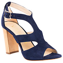 Buy Unisa Wiron Block Heeled Sandals, Ocean Online at johnlewis.com
