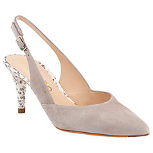 Buy Unisa Karlin Pointed Toe Slingback Court Shoes Online at johnlewis.com