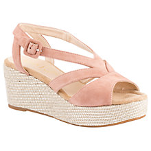 Buy Unisa Kenya Wedge Heeled Sandals, Printemps Online at johnlewis.com