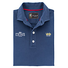 Buy The Lions Collection by Thomas Pink Hasting Rugby Shirt, Navy Online at johnlewis.com