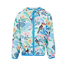 Buy John Lewis Girls' Toucan Mac Coat, Blue Online at johnlewis.com