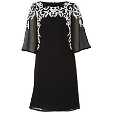 Buy Raishma Wide Sleeve Beaded Dress, Black Online at johnlewis.com
