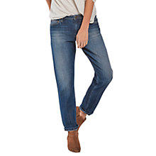 Buy Fat Face Slouch Boyfriend True Vintage Jeans, Denim Online at johnlewis.com