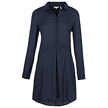 Buy Fat Face Amy Shirt Dress, Navy Online at johnlewis.com