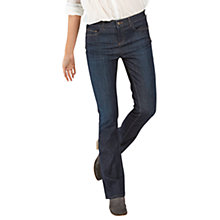 Buy Fat Face Soft Brushed Baby Bootcut Jeans, Denim Online at johnlewis.com
