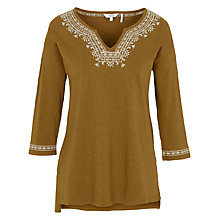 Buy Fat Face Bantham Embroidered Top Online at johnlewis.com
