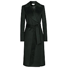 Buy Reiss Forley Textured Long Coat, Racing Green Online at johnlewis.com