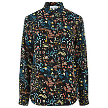 Buy Warehouse Thistle Print Shirt, Multi Online at johnlewis.com