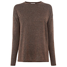 Buy Warehouse Sparkle Twist Back Jumper Online at johnlewis.com