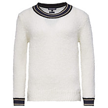 Buy Tommy Hilfiger Pagra Mohair Wool Jumper, Snow White Online at johnlewis.com
