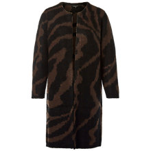 Buy Selected Femme Dabby Cardigan, Brown/Chocolate Torte Online at johnlewis.com