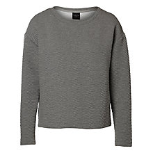 Buy Selected Femme Wilki Sweatshirt, Medium Grey Online at johnlewis.com