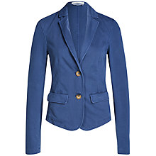 Buy Oui Denim Jersey Jacket Online at johnlewis.com