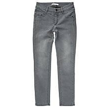 Buy Oui Newport Slim Jeans, Grey Online at johnlewis.com