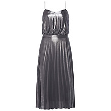 Buy Tommy Hilfiger Jazz Metallic Chiffon Dress, Castlerock Online at johnlewis.com