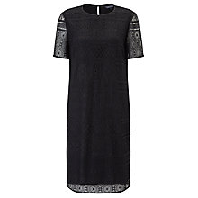 Buy Tommy Hilfiger Jules Lace Dress, Jet Black Online at johnlewis.com