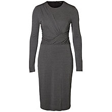 Buy Selected Femme Lakro Dress, Medium Grey Melange Online at johnlewis.com