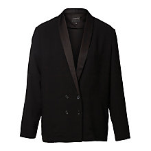Buy Selected Femme Melanie Blazer, Black Online at johnlewis.com