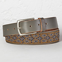 Buy White Stuff Seed Bead Belt, Grey Online at johnlewis.com