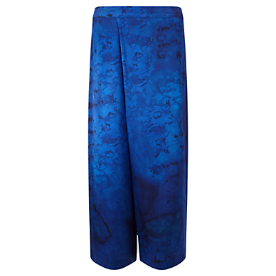 Jigsaw x Antonio Curcetti Palm House Wrap Front Trousers, Cobalt