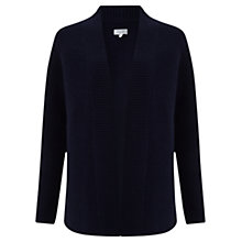 Buy Jigsaw Cashmere Blend Boyfriend Cardigan, Dark Navy Online at johnlewis.com