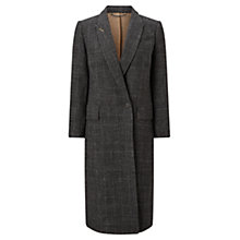 Buy Jigsaw Check Dinner Jacket, Graphite Online at johnlewis.com