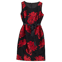 Buy Precis Petite Jamie Spot Dress, Multi/Black Online at johnlewis.com