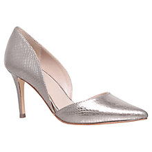 Buy Carvela Knot Occasion Two Part Court Shoes, Gunmetal Online at johnlewis.com