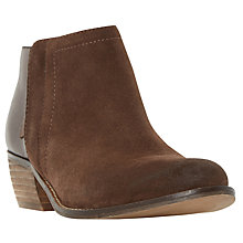 Buy Dune Penela Block Heeled Ankle Boots Online at johnlewis.com