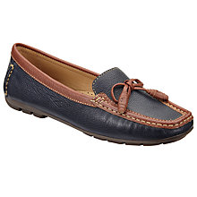 Buy John Lewis Graca Moccasins, Navy Online at johnlewis.com
