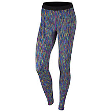 Buy Nike Pro Hyperwarm Training Tights, Comet Blue/Multi Online at johnlewis.com