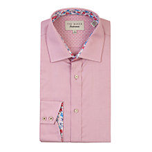 Buy Ted Baker Elias Cotton Dobby Tailored Fit Shirt Online at johnlewis.com