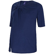 Buy Séraphine Heather Nursing Function Maternity Top, Navy Online at johnlewis.com