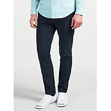 Buy Original Penguin Slim Stretch Chinos, Navy Online at johnlewis.com