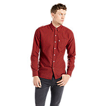 Buy Levi's Sunset One Pocket Shirt, Cherry Online at johnlewis.com