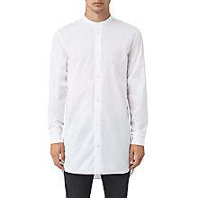 Buy AllSaints Ashton Long Sleeve Shirt, Optic White Online at johnlewis.com