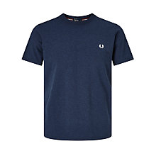 Buy Fred Perry Crew Neck Cotton T-Shirt Online at johnlewis.com
