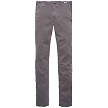 Buy Tommy Hilfiger Denton Straight Fit Chinos, Grey Online at johnlewis.com