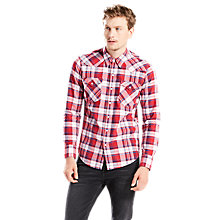 Buy Levi's Barstow Western Check Shirt Online at johnlewis.com