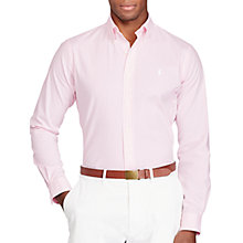 Buy Polo Golf by Ralph Lauren Stripe Performance Shirt Online at johnlewis.com
