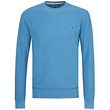 Buy Tommy Hilfiger Cotton Crew Neck Jumper Online at johnlewis.com