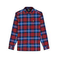 Buy Lyle & Scott Checked Flannel Shirt Online at johnlewis.com