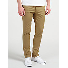 Buy Original Penguin P55 Slim Fit Stretch Chinos, Kelp Online at johnlewis.com