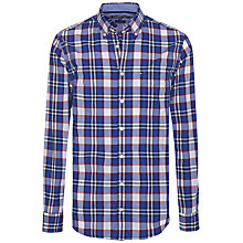 Buy Tommy Hilfiger Amiston Check Long Sleeve Shirt, Blackberry Cordial/Surf the Web Online at johnlewis.com